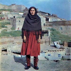 Агульская женщина.