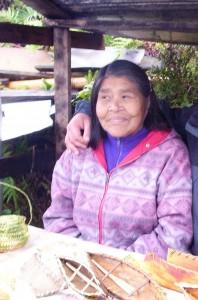 Женщина-алакалуф, одна из последних представителей народа.