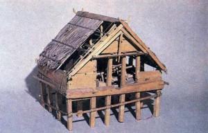 Модель, традиционного жилища. МАЭ.