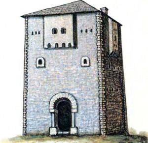 Дом-башня кула.