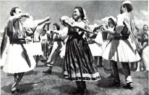 Народный танец. Южная Албания. 80-е гг. 20 в.