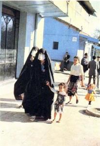 Алжирские женщины. Район Константины.