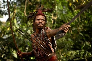 Представитель горного племени абуи.