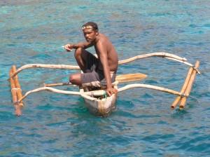 Житель острова Алор.