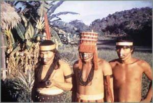 Представители племени.