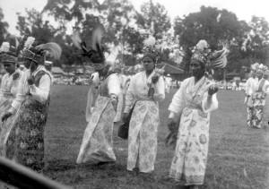 Танец на День королевы 1921.