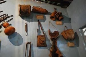 Вещи амусго в Общественном музее Хочистлахуака (штат Герреро).