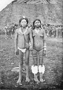 Впервые народ был обнаружен исследователем Инглесом Виффеном (Ingles Whiffen) в 1908.