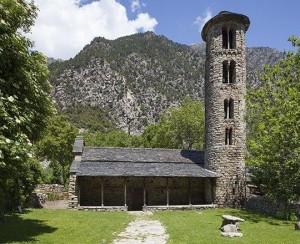 Церковь Санта Колома 10 в. Одна из старейших в стране.