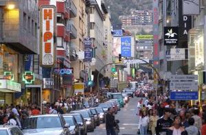 Улицы Андорры.