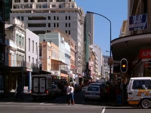 Длинная улица. Кейптаун 2008.