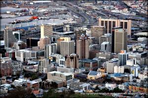 Южноафриканский Кейптаун.