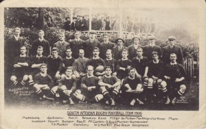 Команда ЮАР по регби. 1906.