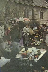Традиционная приходская ярмарка. Город Сидней.