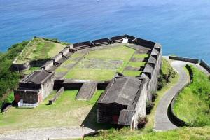 Форт Бримстоун-Хилл на острове Сент-Китс.