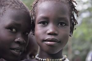 Девочки ануак. Эфиопия.