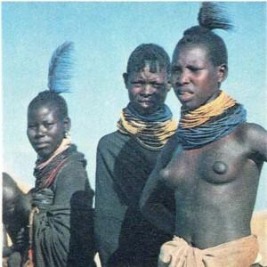 Женщины ануак. Южный Судан.