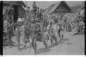 Ритуальная процессия апатани - избавление от преследования души убитого врага.