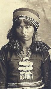 Женщина народа апайо. Начало 20 в.
