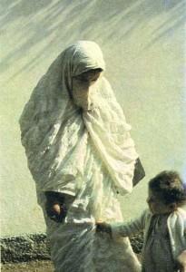 Алжирская женщина. Район Орана.