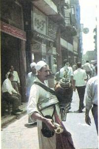 Продавец шербета в Каире.