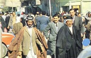 Улица в Багдаде. 80-е гг. 20 в.
