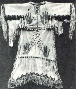 Платье для Пляски духов, нач. 20 в.