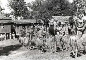 Племя араваков из штата Мату-Гросс, Бразилия.