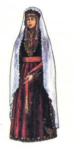 Традиционный женский костюм. Карин.