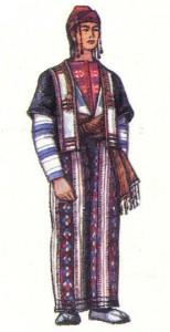 Традиционный мужской костюм. Васпуракан.