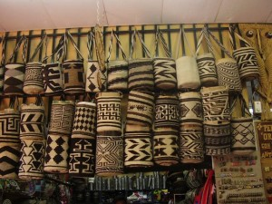 Плетеные мешочки - популярны в Колумбии.