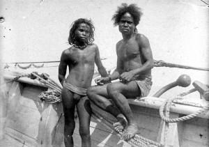 Жители острова Панамбулаи. Начало 20 в.