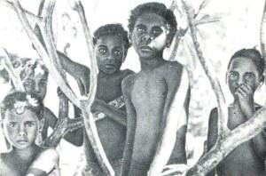 Австралийские дети. Северная Австралия.