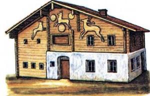 Альпийский дом.
