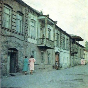 Город Кахи. Старая застройка.