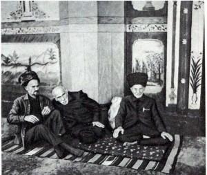 Пожилые азербайджанцы.