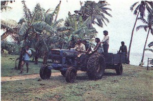 Полинезийцы. Остров Номука.