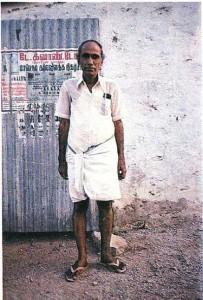 Тамил-брахман. Индия.