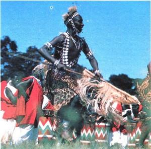 Танец Тутси в исполнении фольклорного ансамбля. Бурунди.