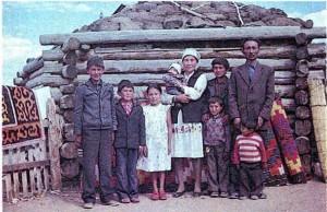 Семья алтайцев.
