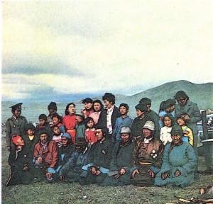 Семья ойратов. Монголия.